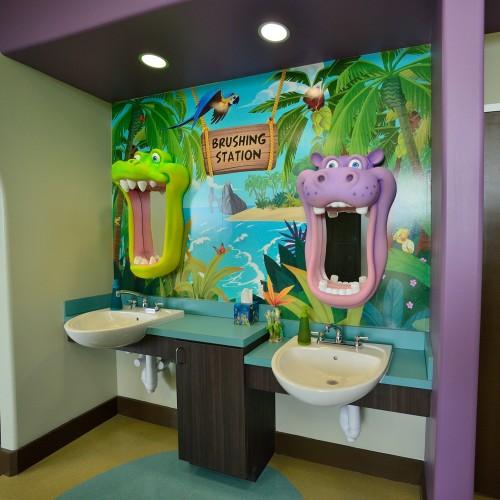 Pediatric Dentist Office Design Dominion Pediatric Dentistry Office  San Antonio Interiorsmsaofsa