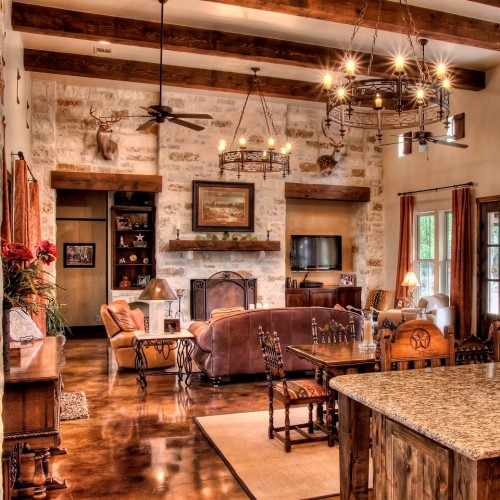 Private road custom home boerne custom for Homeinteriors com texas