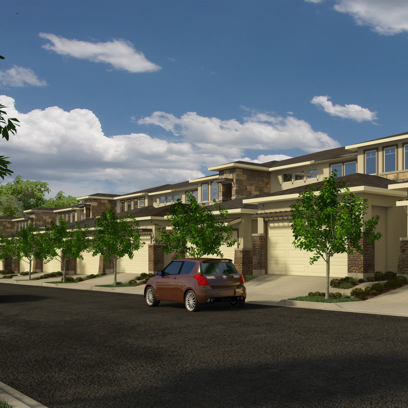 LIVE  MULTI-FAMILY ON THE BOARDS  LAS VENTANAS TOWNHOMES