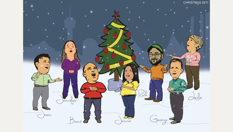 2011 MSA CHRISTMAS CARD