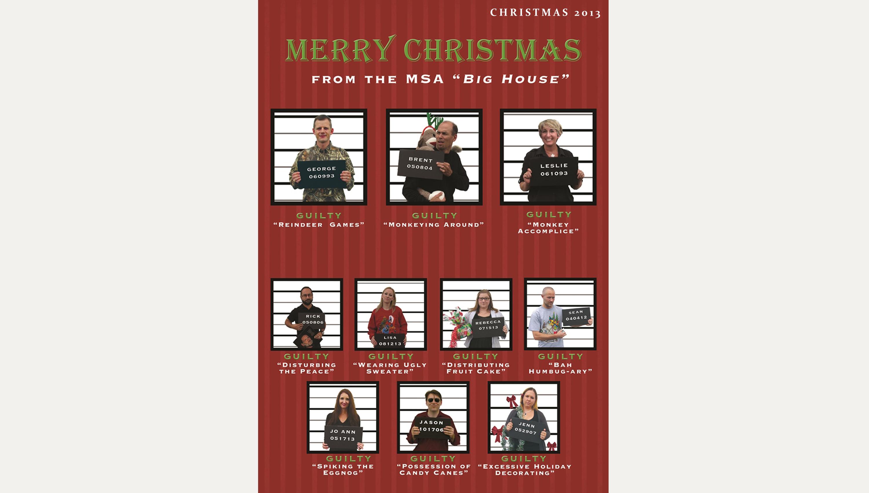 2013 MSA CHRISTMAS CARD